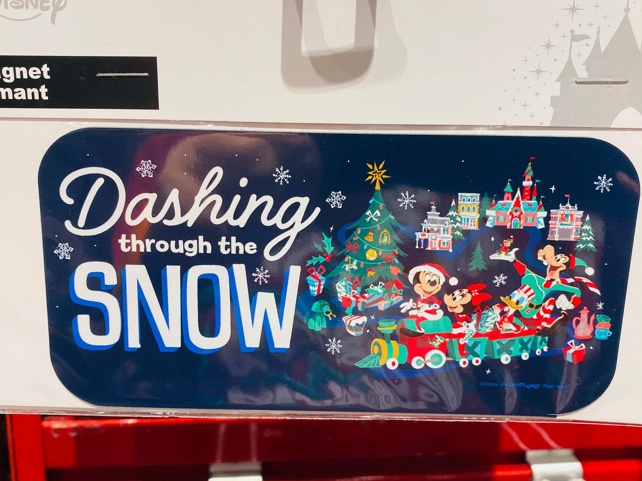 Disney Holiday Magnets