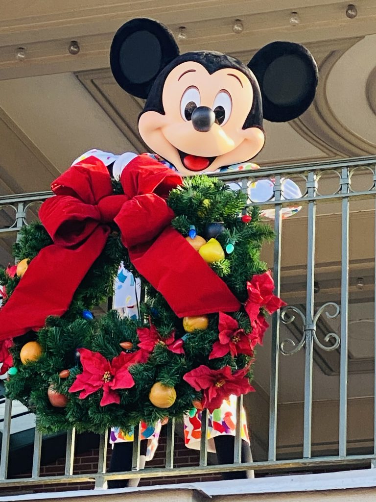 Mickey Mouse Christmas Magic Kingdom