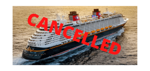 Disney Cruise Cancels June