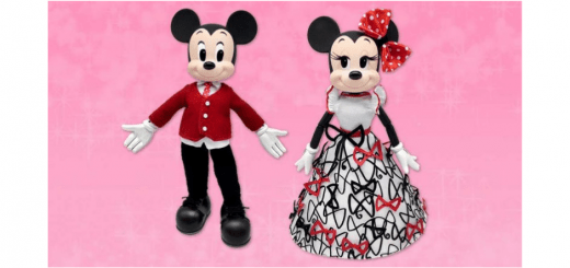 Mouse Valentine's Day Doll Set