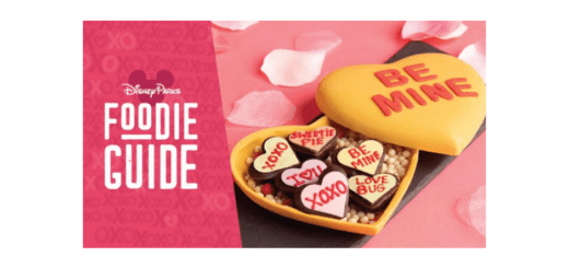 Disney Valentine's Foodie Guide