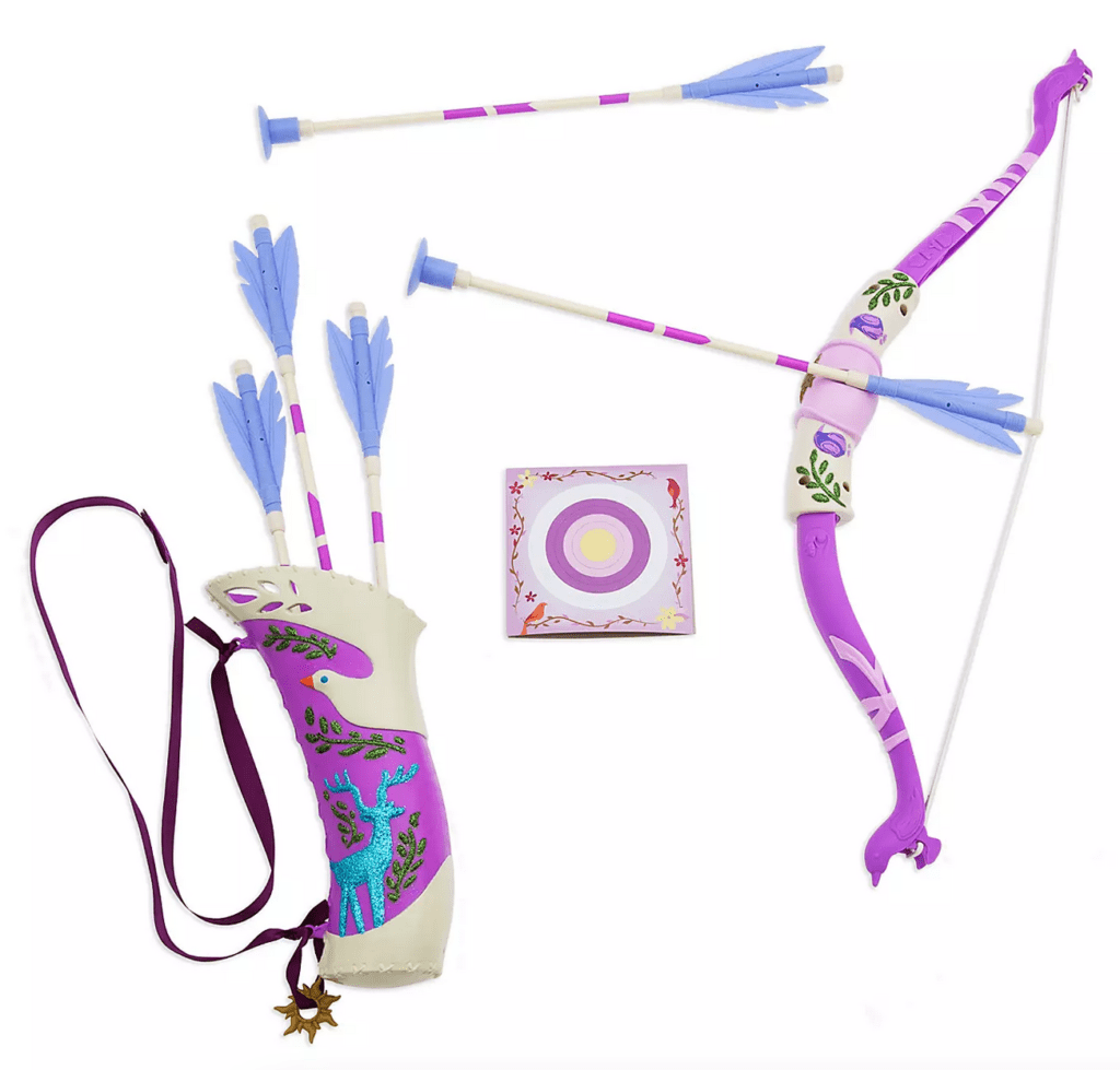Rapunzel Bow and Arrow set gift from shopDisney