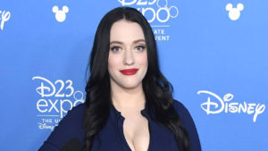 Kat Dennings at D23