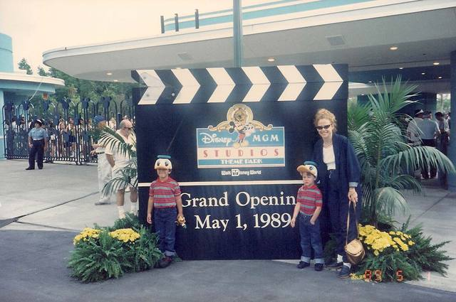 Hollywood Studios opening