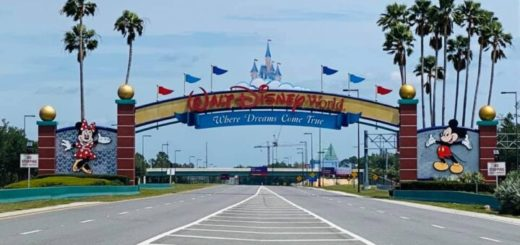 WDW Entrance Sign