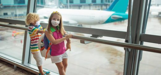 kids mask airport