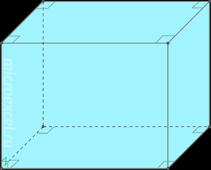 Paralelepípedo rectangular