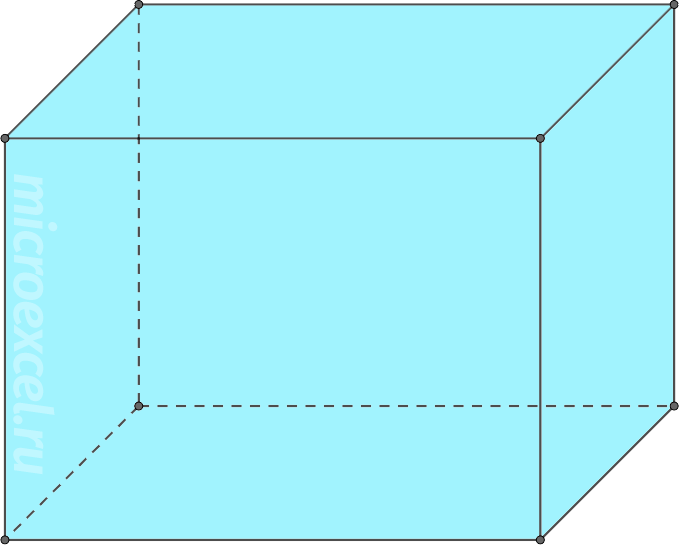 Parallelepiped.