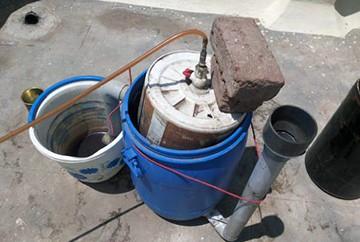 Házi biogáz telepítés