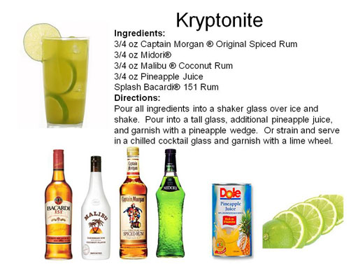 Bachelor Party Midnight Mixologist