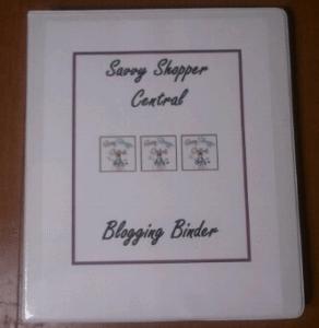My Blogging Binder