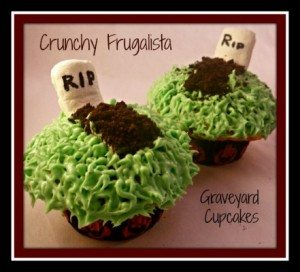 Halloween Treats - Graveyard Cupcakes