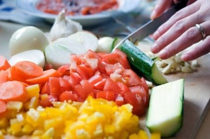 Prep your veggies to save time
