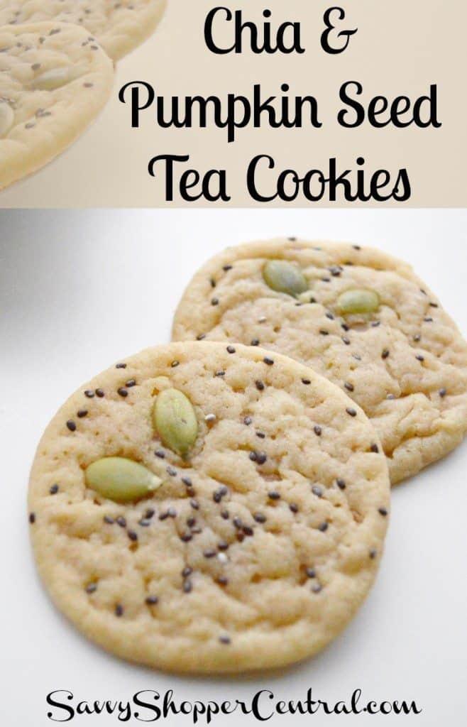 Chia Seed Tea Cookies