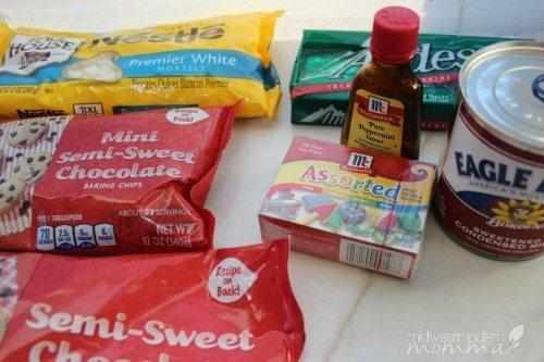 Andes Mint Chocolate Fudge Ingredients