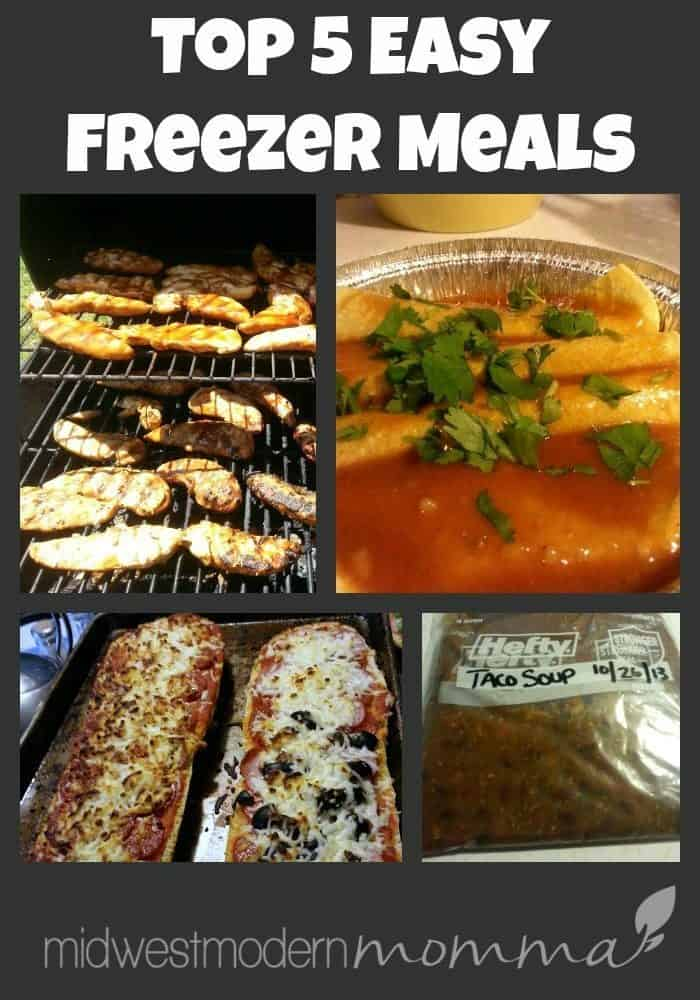 Easy Freezer Meals are a must-have for the busy homemaker! Everyone can benefit from having delicious, easy freezer meals ready to go when you need them!