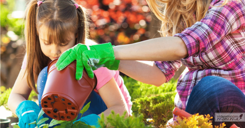 A Kids Garden is the perfect way to bring the classroom outdoors! This summer, check out our list of 7 Benefits To Letting Your Kids Garden With You!