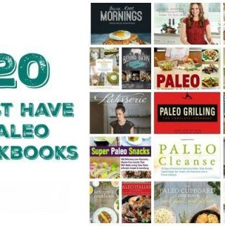 Paleo Meals are never easier than when using amazing recommend Paleo Cookbooks like this list! Perfect for gifting or buying for your own use!