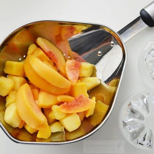 Orange creamsical smoothie Ingredients