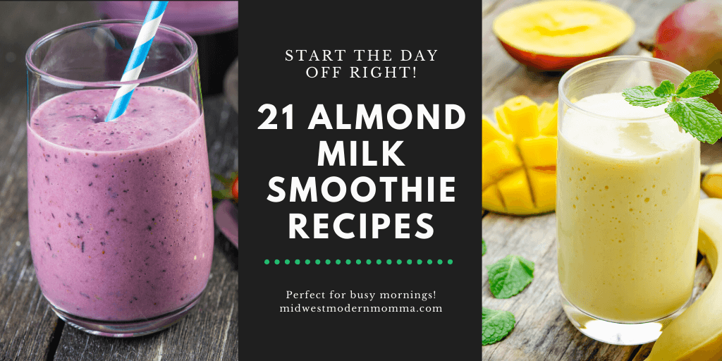 21 Almond Milk Smoothies with Spinach