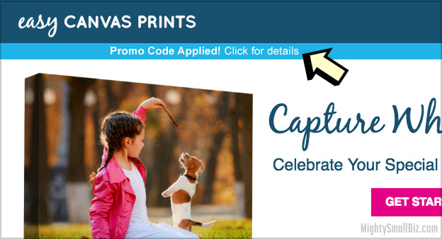 Best Easy Canvas Prints Promo Code? This Coupon for 87% ...