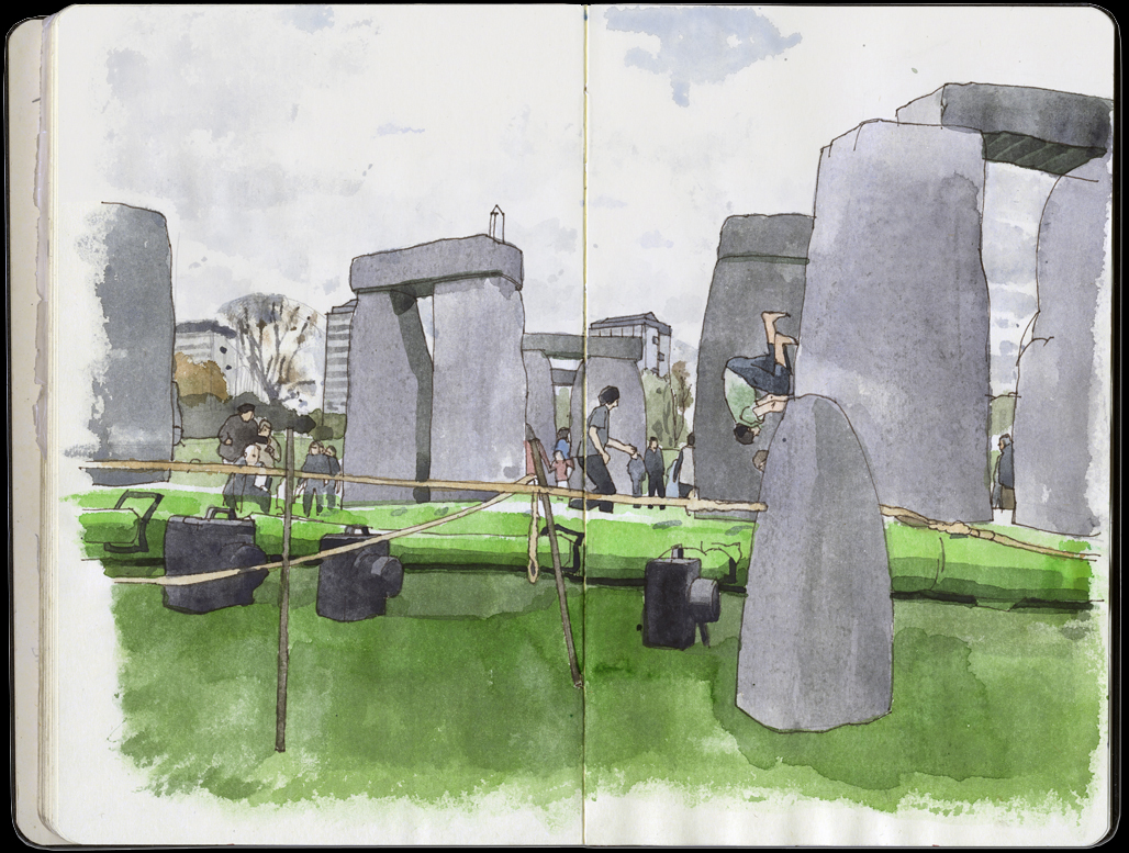 stonehenge sketchbook - HD1028×777
