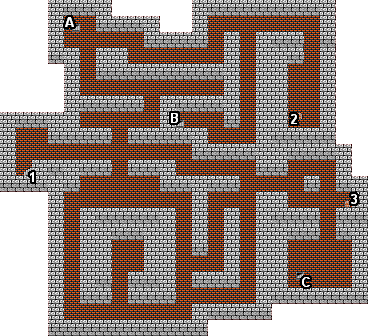 Mike S Rpg Center Dragon Warrior Iii Maps Cave