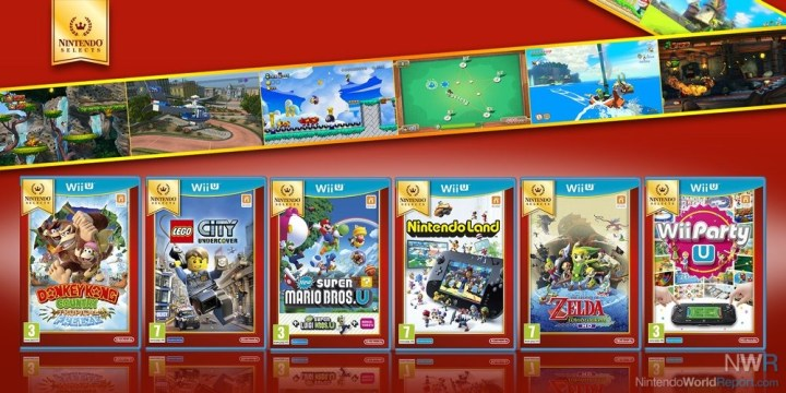 6 Wii U titles getting  Nintendo Selects  treatment in Europe     6 Wii U titles getting  Nintendo Selects  treatment in Europe
