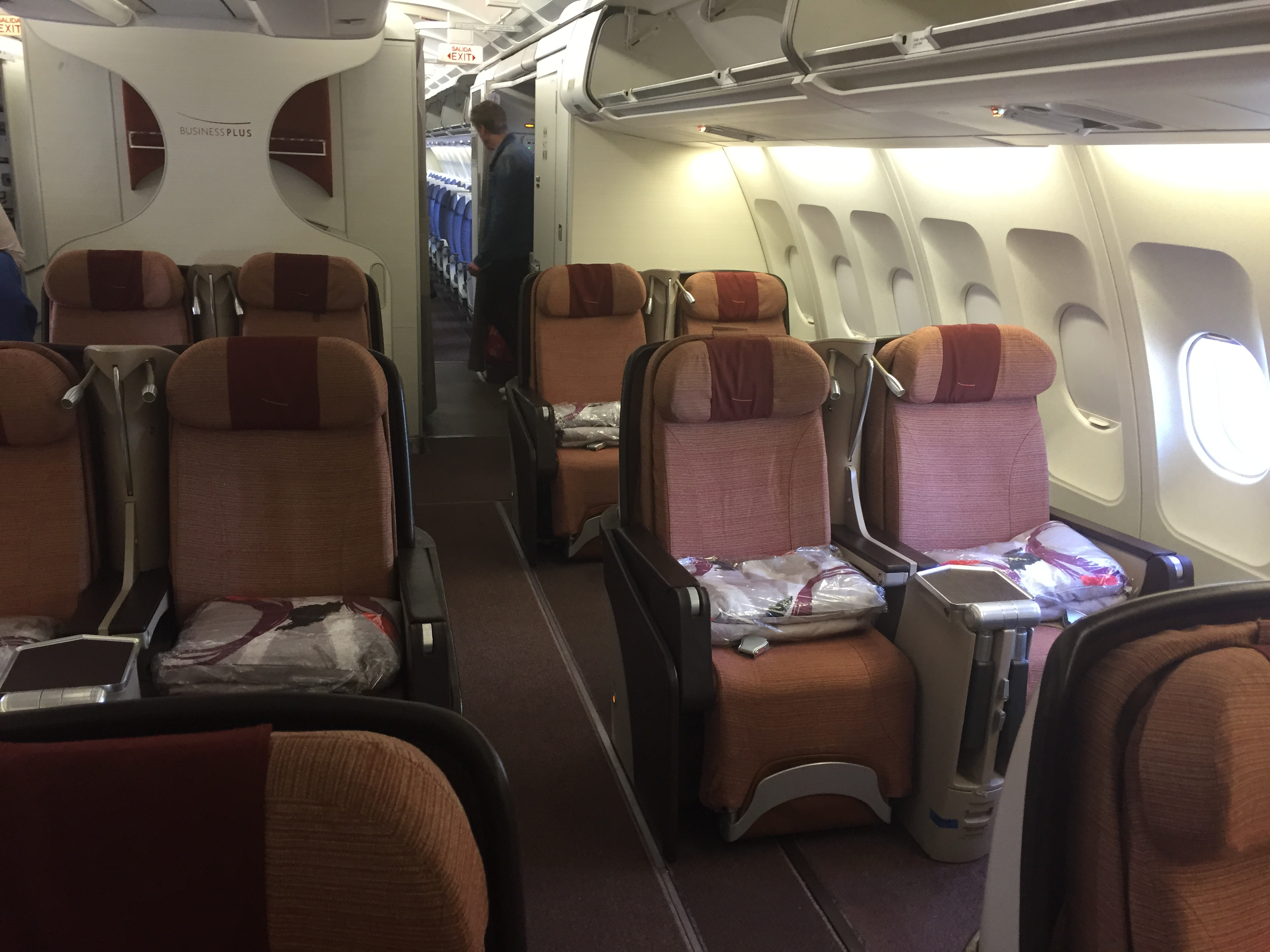 Iberia Madrid To Jfk Business Class Miles From Blighty