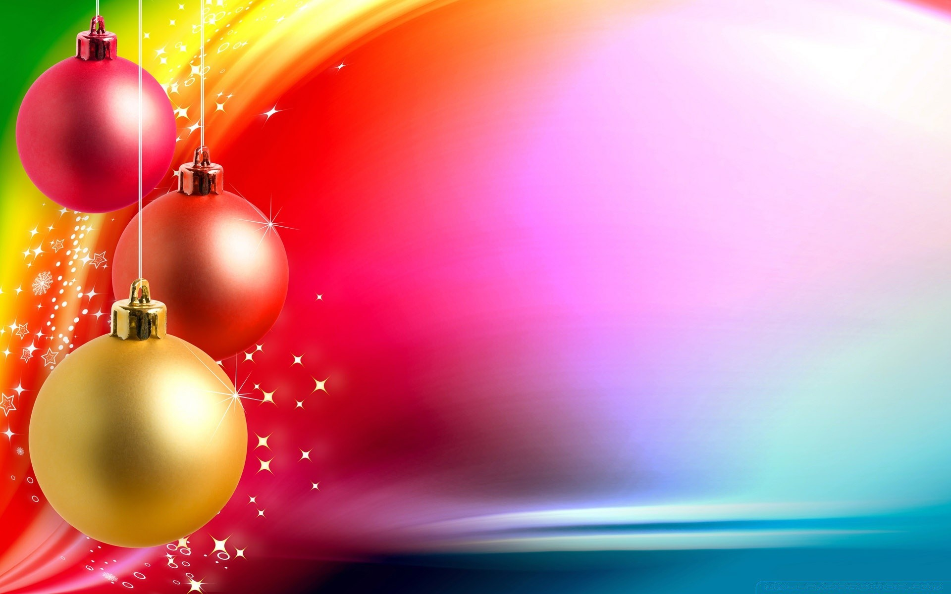 Colorful Christmas Background  iPhone wallpapers for free