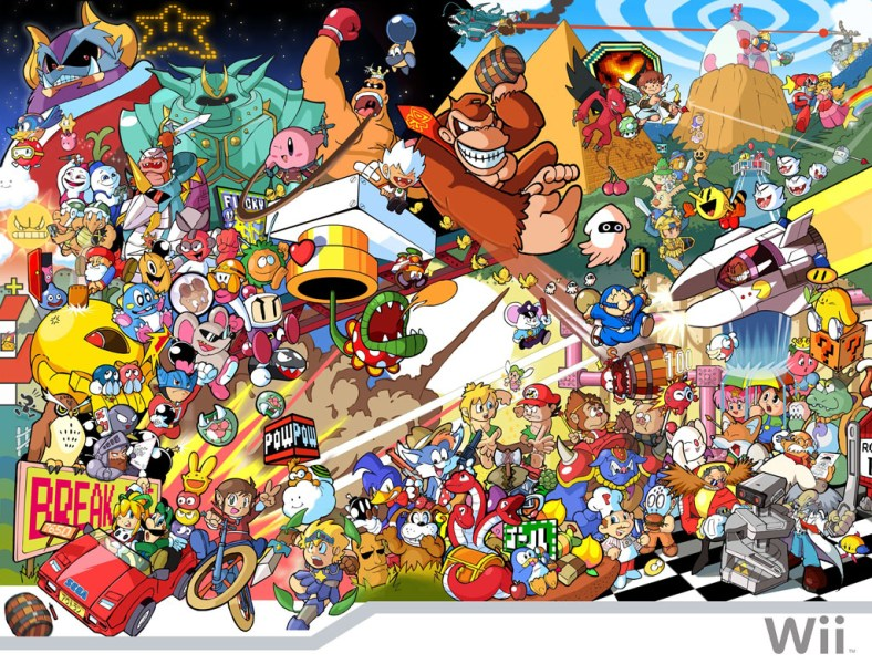Classic characters from old retro video games   miltonhernandez Classic characters from old retro video games
