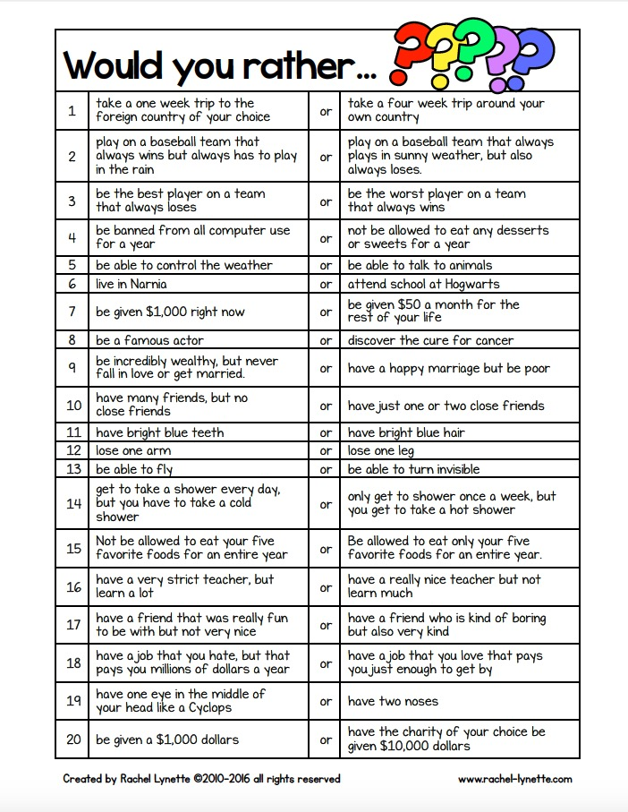 High School Get To Know You Worksheet