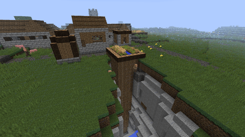 Jungle Village Minecraft Seed 162