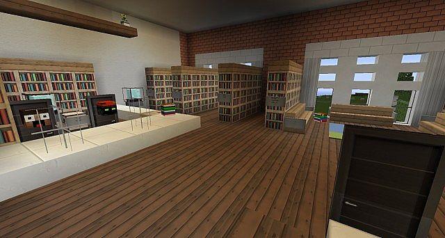 Ironhurst Elementary School Minecraft Building Inc