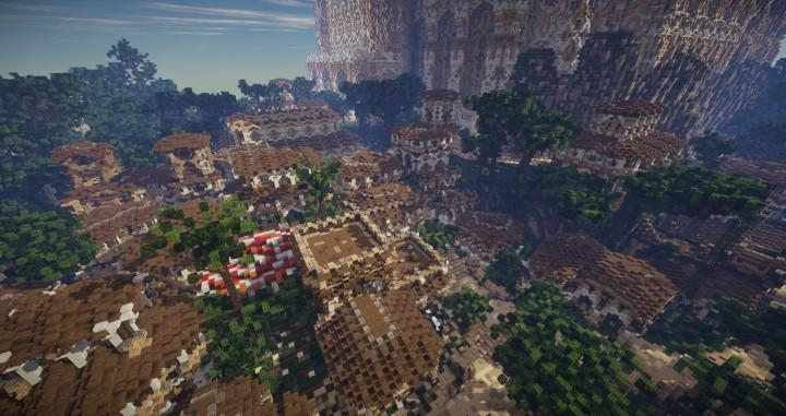 Minecraft Modern World Map