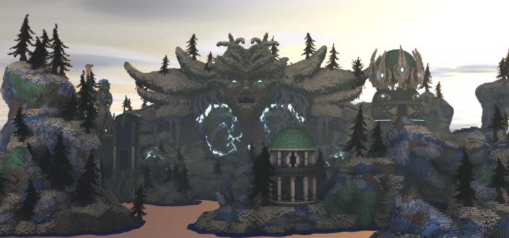 Frostbite Island Minecraft Building Inc