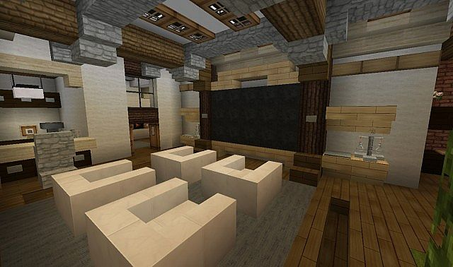 French Country Home Minecraft House Design