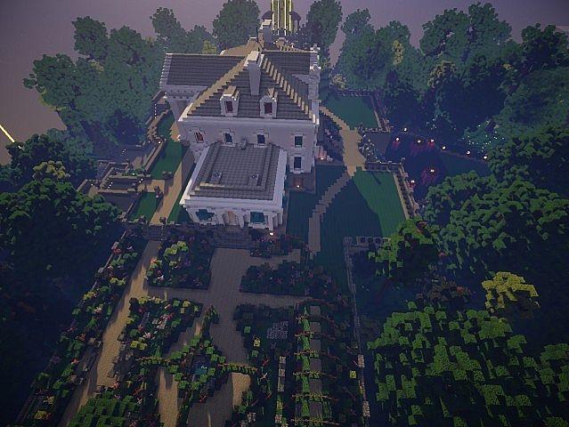 Snows Mansion Minecraft House Design