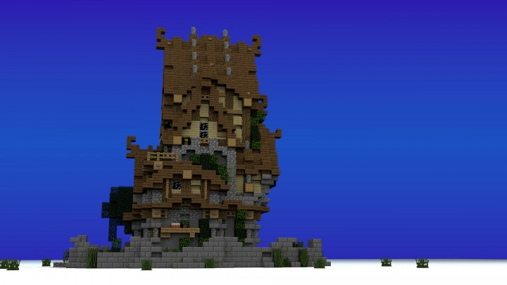 Two Story Medieval House Minecraft House Design
