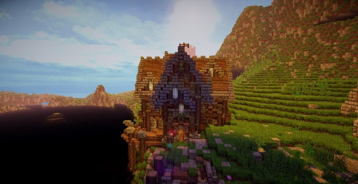 Minecraft Country House