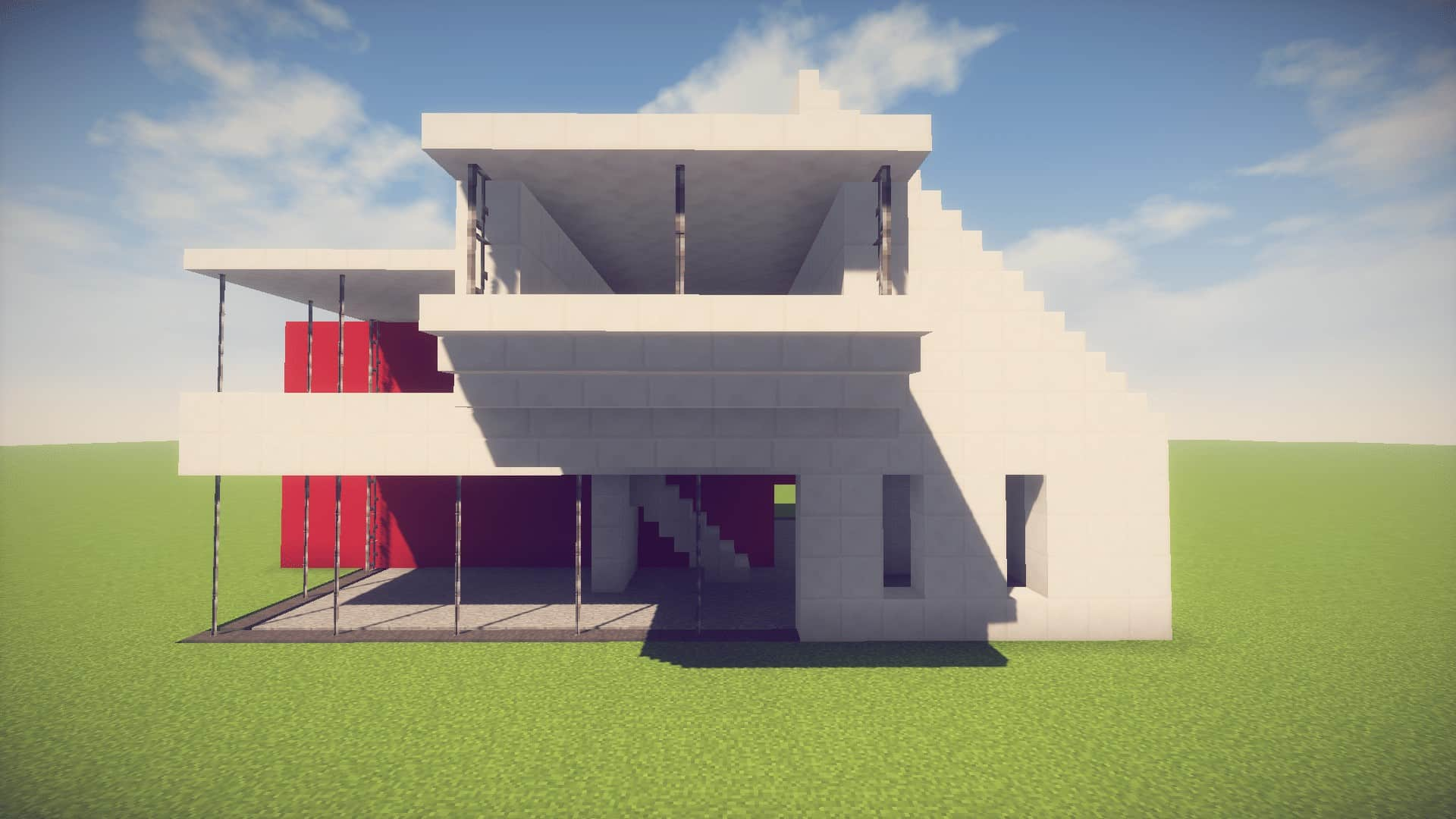 minecraft house tutorial - HD1920×1080