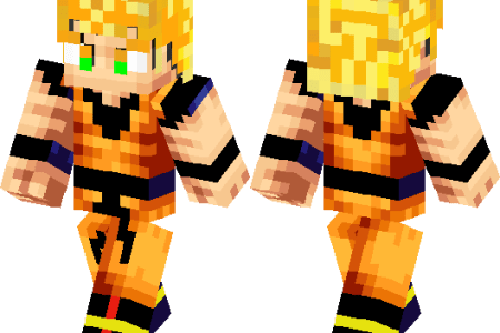 Skin De Minecraft De Goku K Pictures K Pictures Full HQ - Skins para minecraft pe trunks