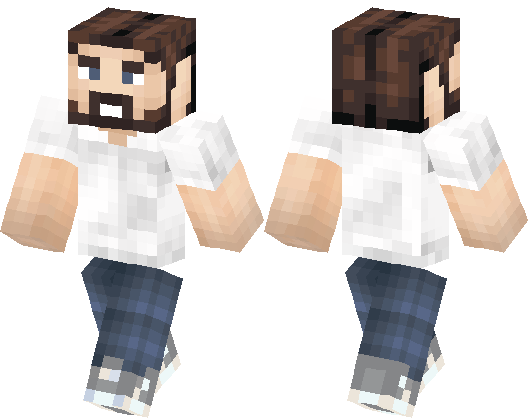 скины бородатого мужика майнкрафт 64x32 #4