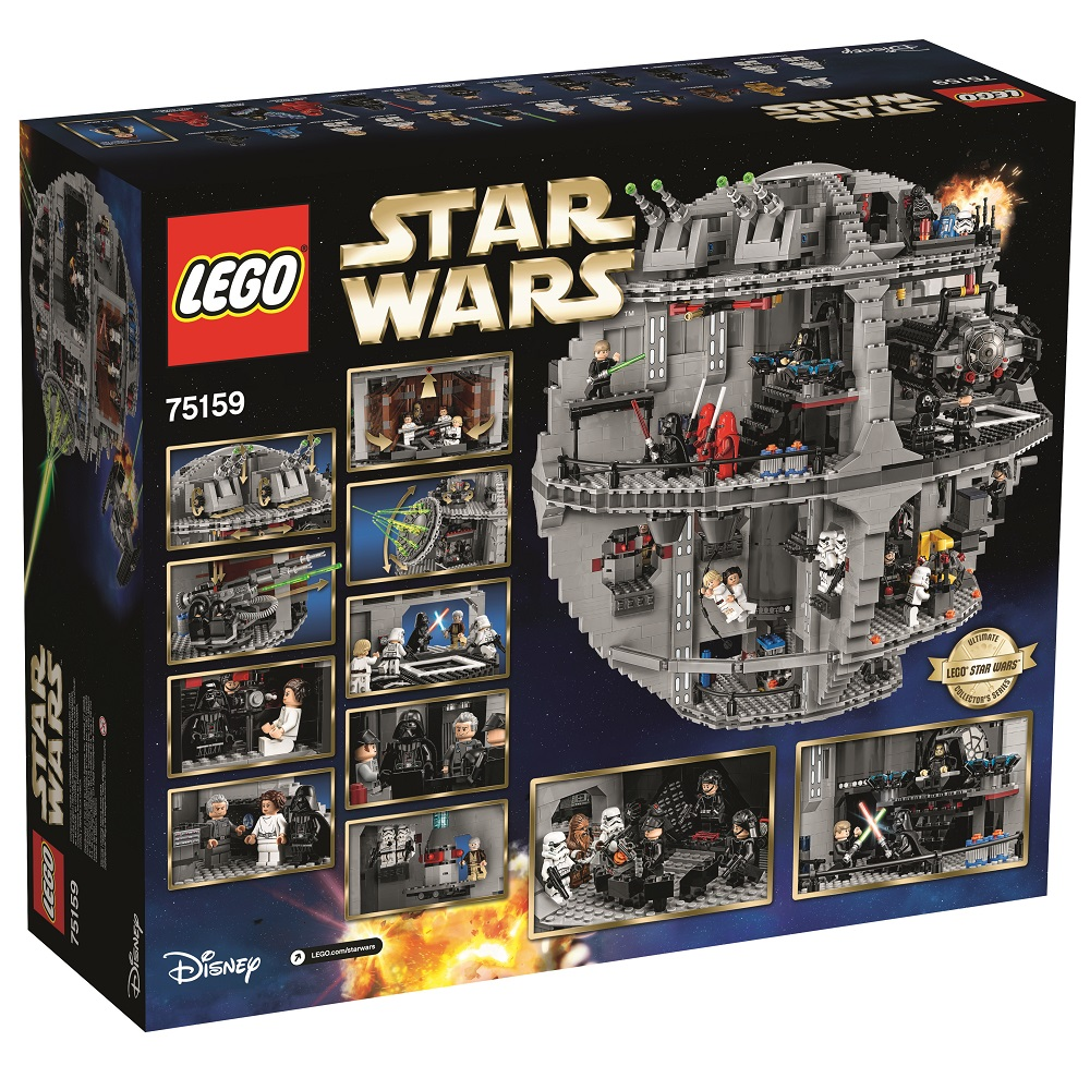 Lego 75159 Minifigures Galore - Oh and it comes with a box ...