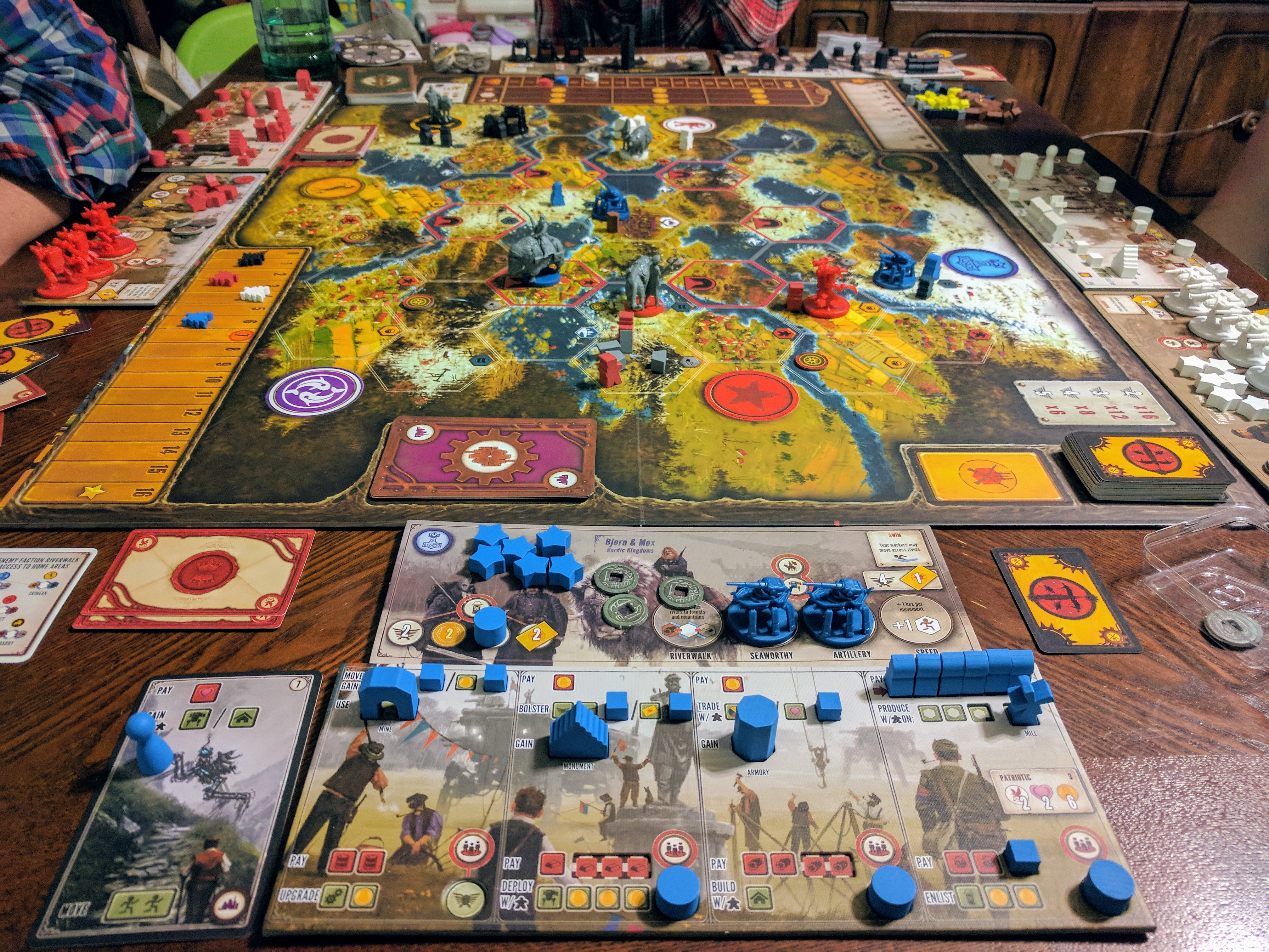 Board Games     As I play more and more games and grow older  I ve learned that Area  Control and Conquest style games  such as RISK  really are not my favorite  genre