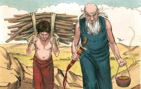 abraham and isaac # 5