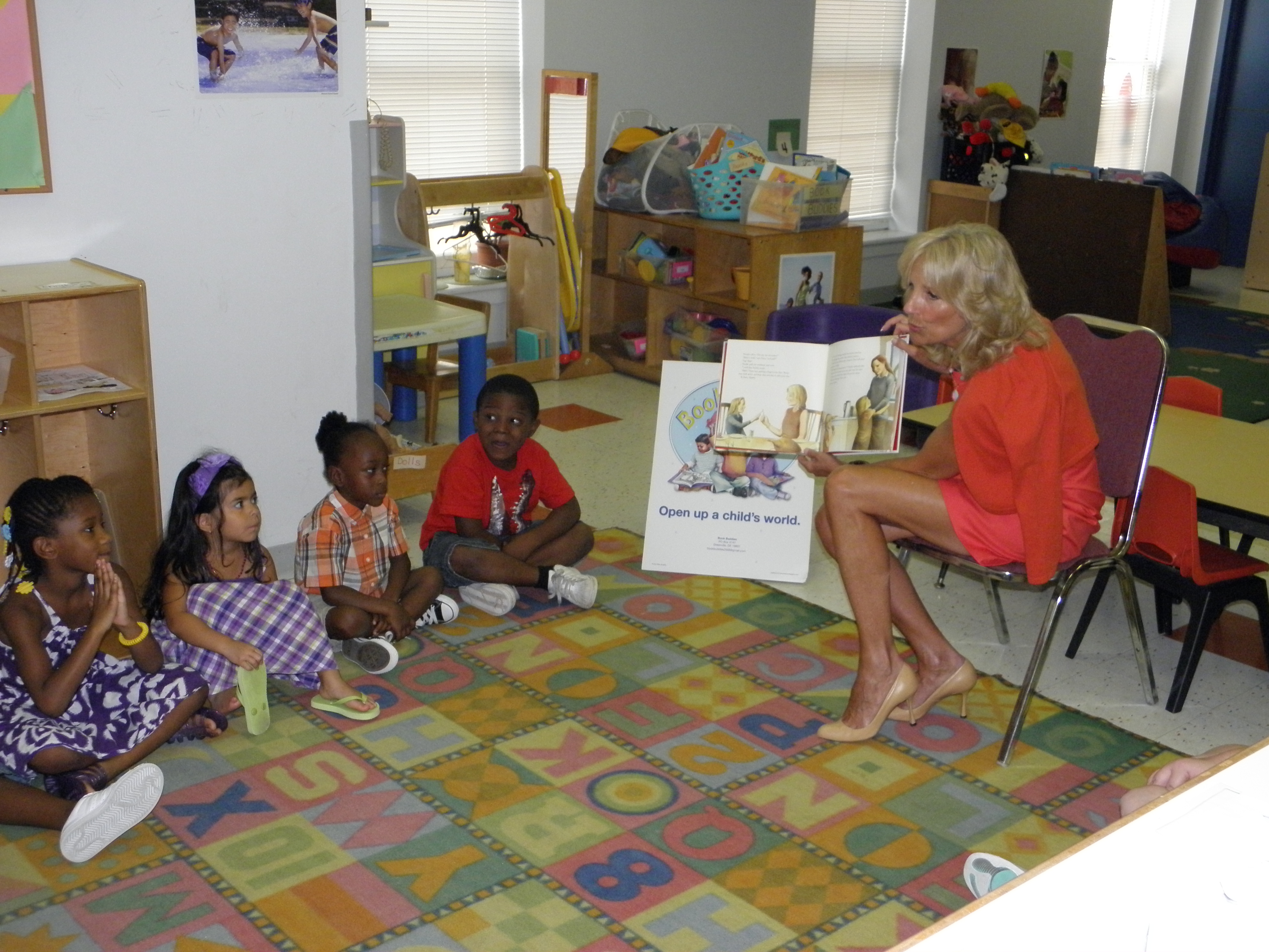 Dr. Jill Biden Visits Ministry Day Care Centers | The ...