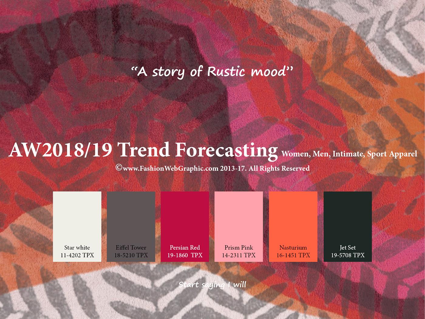 Fall Fashion Color Forecast 2017