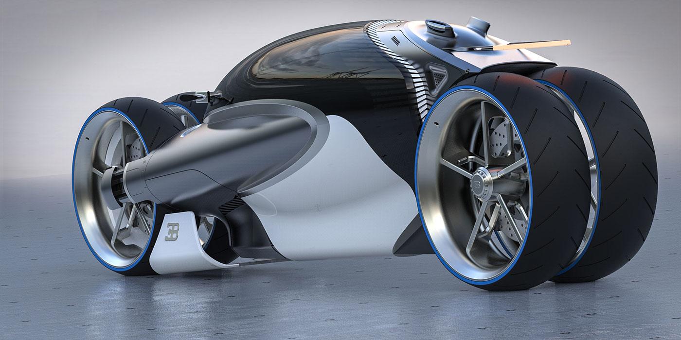 Bugatti Type 100m Bike Concept On Behance