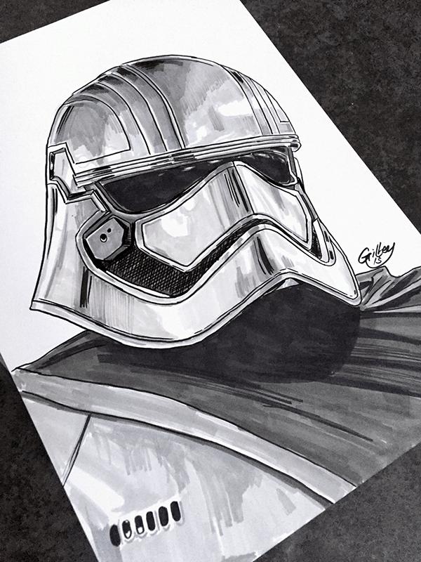 Star Wars Marker Pen Sketches On Wacom Gallery